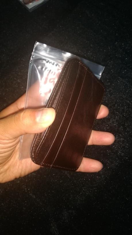 COHEART merk portemonnee echt leer Topkwaliteit mannen portemonnee vrouwen creditcard portemonnee kleine portemonnee unisex portemonnee mini Ultral Thin! photo review