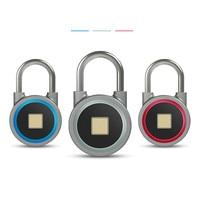 Smart padlock electronic lock warehouse door security door lock Bluetooth fingerprint padlock