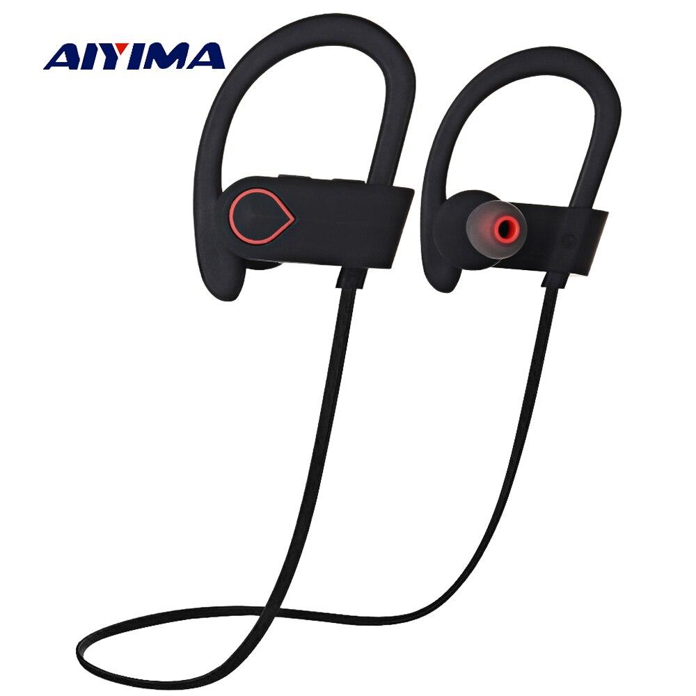 AIYIMA Wireless Bluetooth Headphones Sports Running