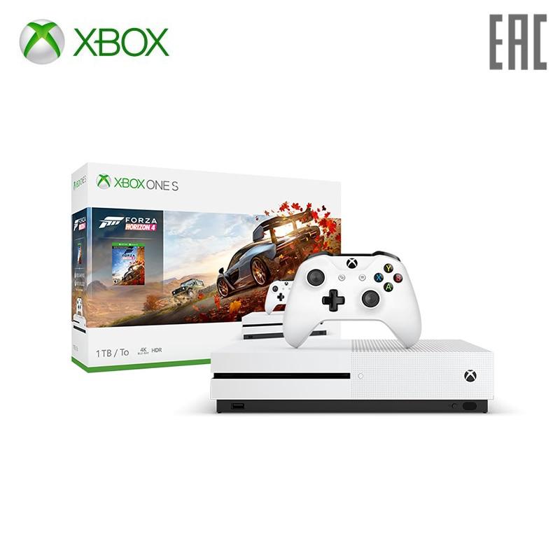 Xbox One S 1 TB + Forza Horizon 4 (234-00562) xbox 360 xbox 360 wireless speed wheel forza motorsports 4