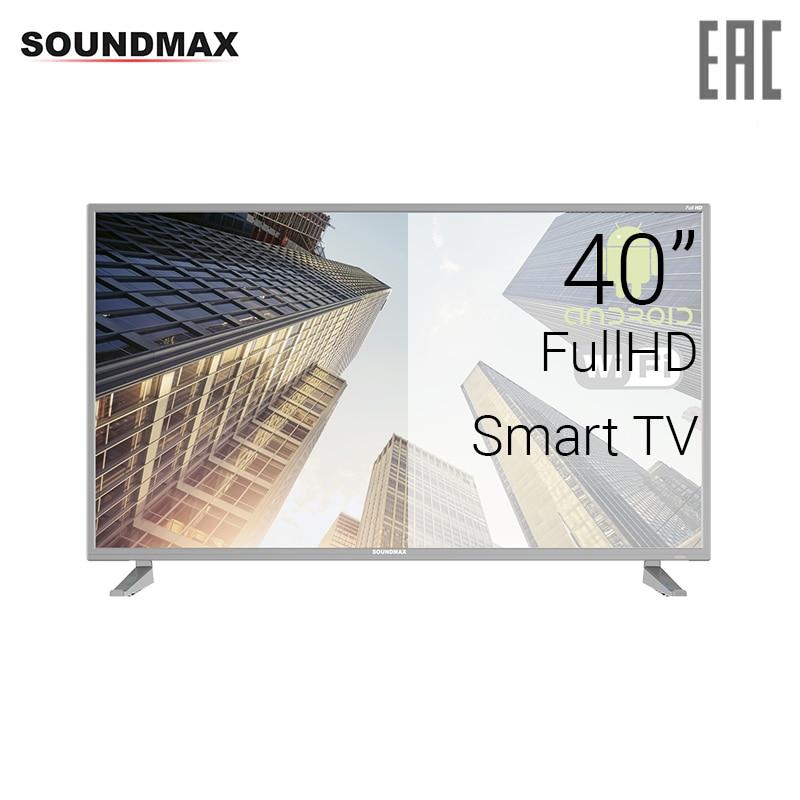 TV 40 Soundmax SM-LED40M04S FullHD SmartTV 4049inchTV dvb dvb-t dvb-t2 digital tv 43 telefunken tf led43s81t2s fullhd smarttv 4049inchtv