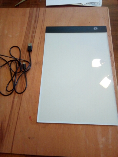 Artist LED Drawing Sketching Board Light Box - A4 photo review
