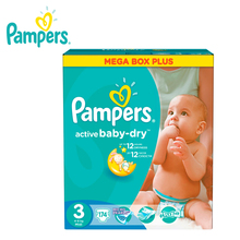 Подгузники PAMPERS Active Baby-Dry Midi 4-9 кг Mega Plus 174