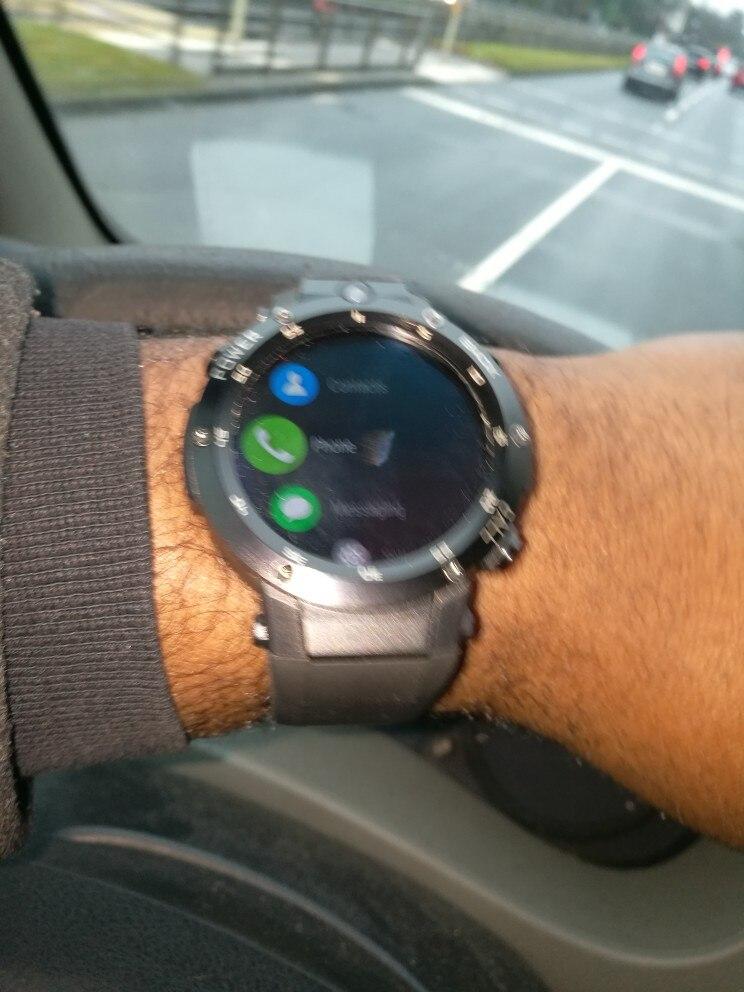 Zeblaze 3 Thor S G GPS Smartwatch 1 39 polegada Android 5 1 GB + 16 MTK6580  1 0 GHz 1 GB Inteligente relógio BT 4 0 Dispositivos Wearable