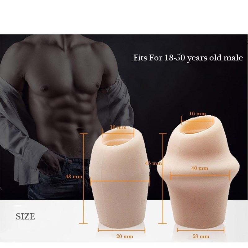 DMM 2pcs/box Delay Ejaculation Cock Rings Prevent Foreskin Resistance Men Correction Soft Peins Ring Adult Game Sex Toys For men