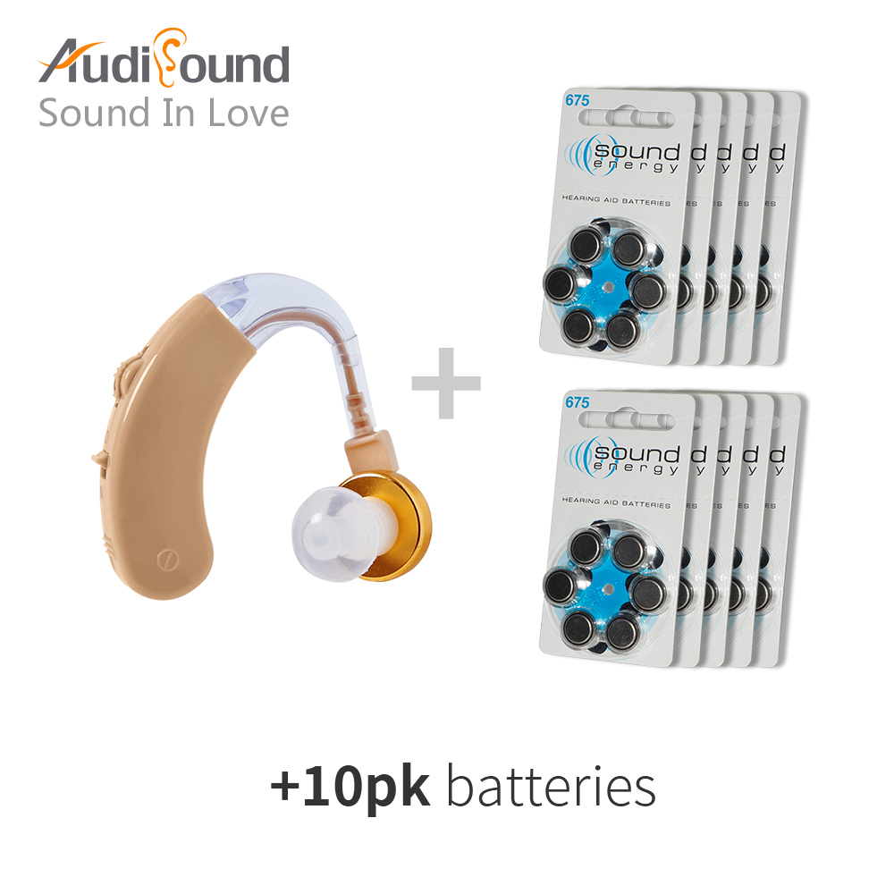 Behind Ear style Hearing Aid sound voice amplifier audiphones Hearing Aids aparelho auditivo amplificador aparelho auditivo behind the ear analog hearing aid rechargeable mini ear deaf aids s 109s