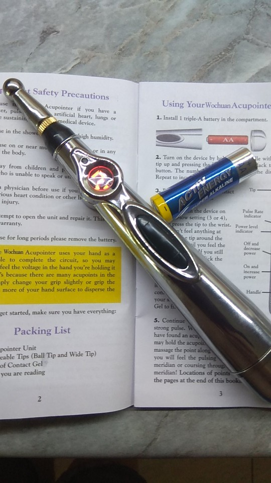Laser Acupuncture Pen photo review