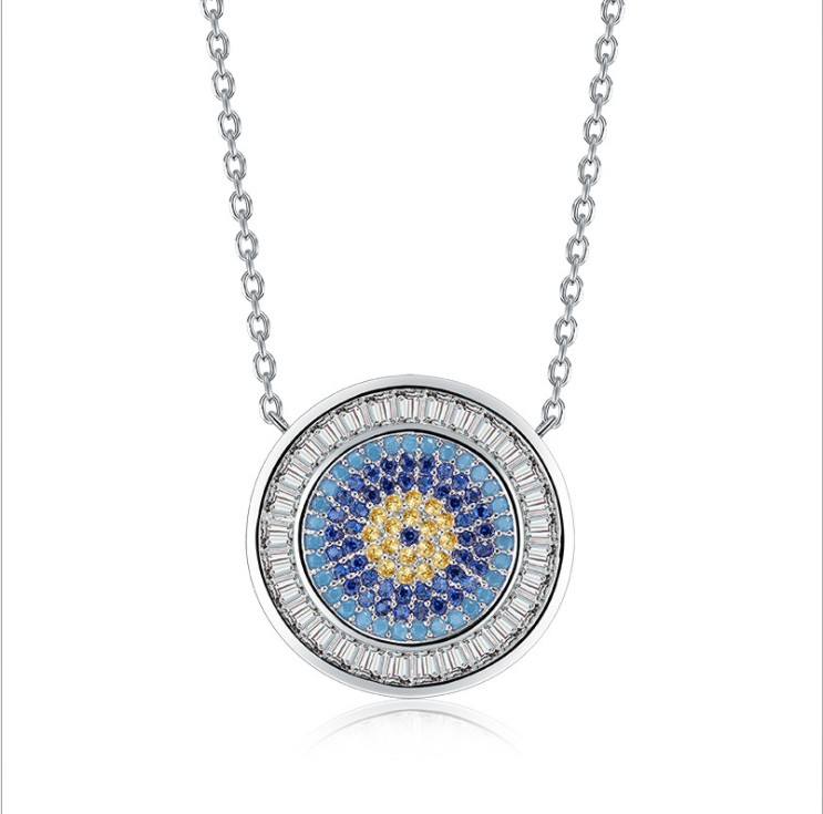 Luxury Brand 2019 New Original Crystals From Swarovski Name Necklaces Fine Jewelry For Women Chain Christmas Party