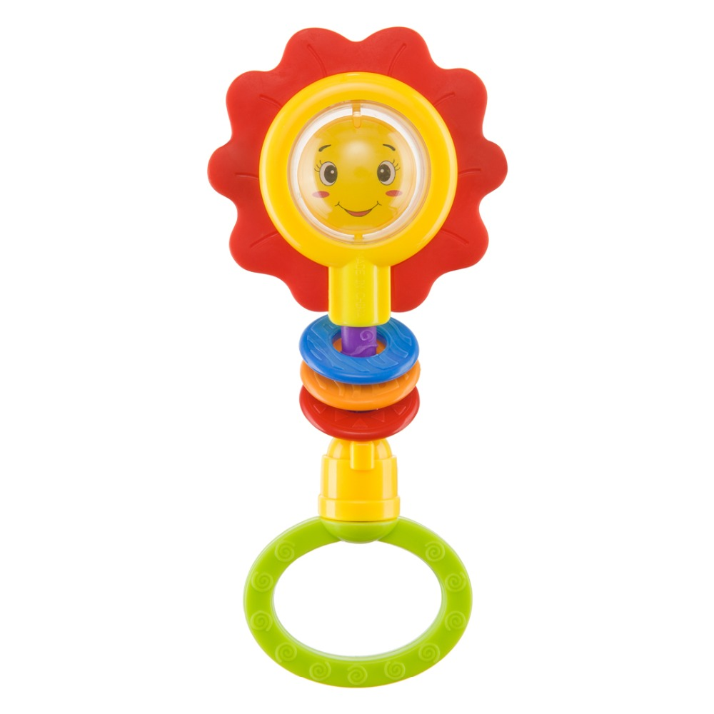 Rattle FLOWER TWIST Happy Baby 330370 утяжеление для рук happy flower aqquatix aft 0001