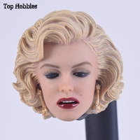 Custom 1/6 Scale Sexy Marilyn Monroe Female Head Sculpt For 12 Inch Phicen Hot toys in stock Action Figure Kumik Body doll