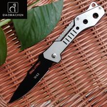 2017 Hand Folding Knife Camping Survival Tools Hunting knives Outdoor Pocket Steel Handle Super Sharp