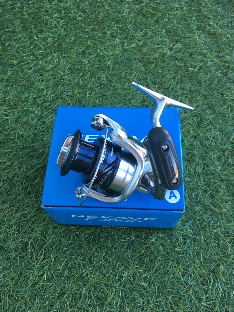 2018 New Arrival Original SHIMANO NEXAVE 1000 2500 C3000 4000 5000HG Low Gear Ratio Front Drag 4BB Saltwater Carp Fishing Reel