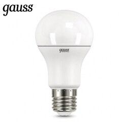 أدى المصباح الكهربي ديود E27 A60 7 W 10 W 12 W 15 W 20 W 25 W 2700 K 4000 K 6500 K غاوس ضوء الباردة الأبيض الدافئة الأبيض Lampada ضوء المصباح