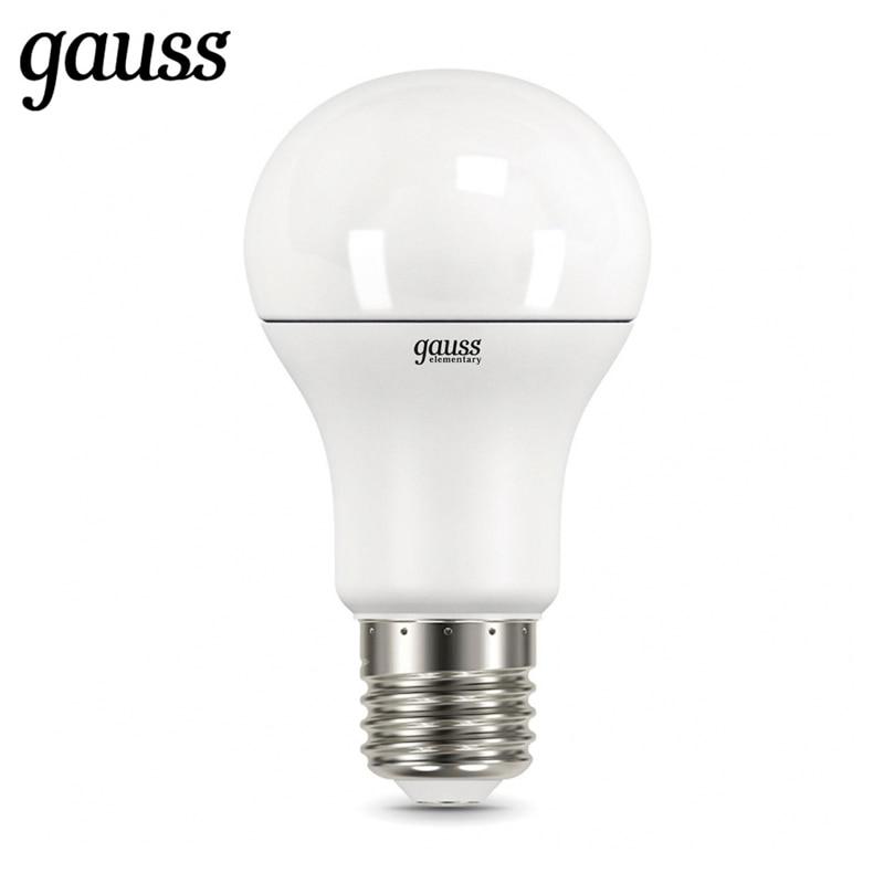 LED Lamp Bulb Diode E27 A60 7W 10W 12W 15W 20W 25W 2700K 4000K 6500K Gauss Light Cold White Warm White Lampada Lamp Light