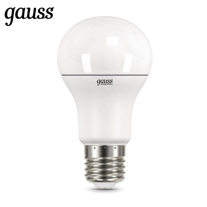 Lampe à LED ampoule diode E27 A60 7 W 10 W 12 W 15 W 20 W 25 W 2700 K 4000 K 6500 K Gauss lumière blanc froid blanc chaud lampe Lampada