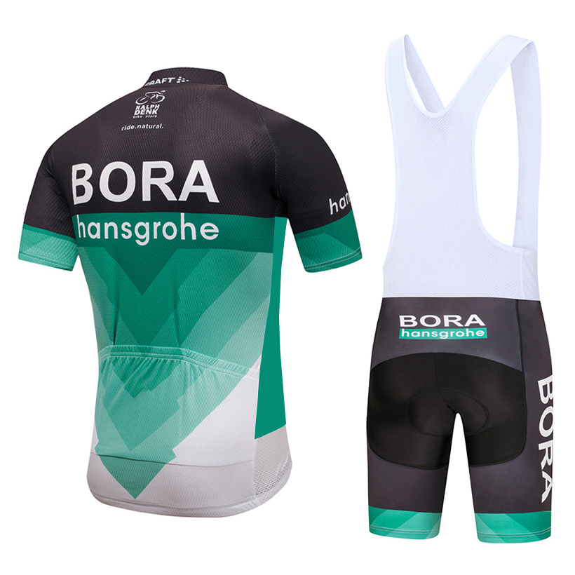 dc7d87e23 2018 Team BORA cycling jersey 9D gel pad bike shorts set MTB SOBYCLE Ropa  Ciclismo sobycle mens summer bicycling Maillot wear-in Cycling Sets from  Sports ...
