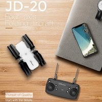JDRC JD 20 JD20 WIFI FPV With Wide Angle HD Camera High Hold Mode Foldable Arm