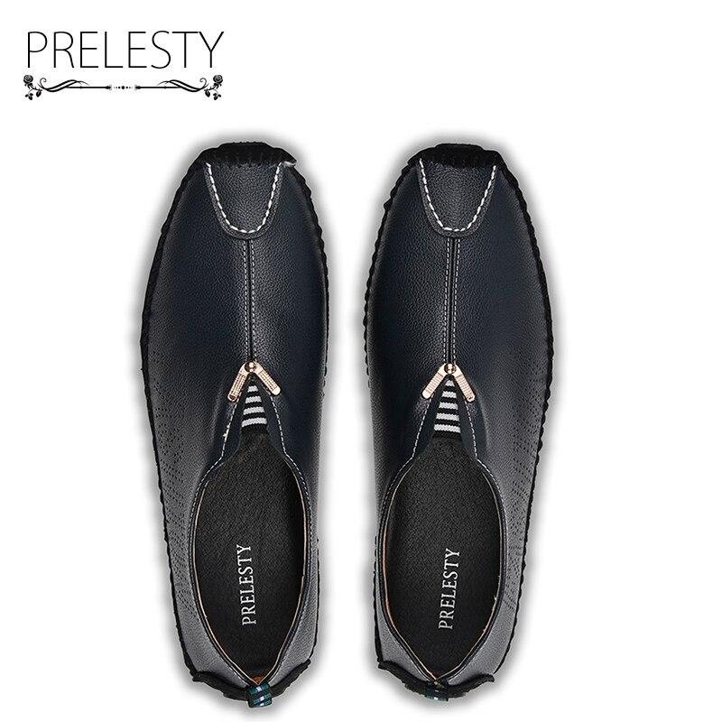 0c08dbf42306 Prelesty Luxury Brand Swag Uomini Urbano Vestito Mocassini Slip on Scarpe  Gentleman Mens Causale Mocassini Scarpe Morbide Piatte di Guida in Prelesty  Luxury ...