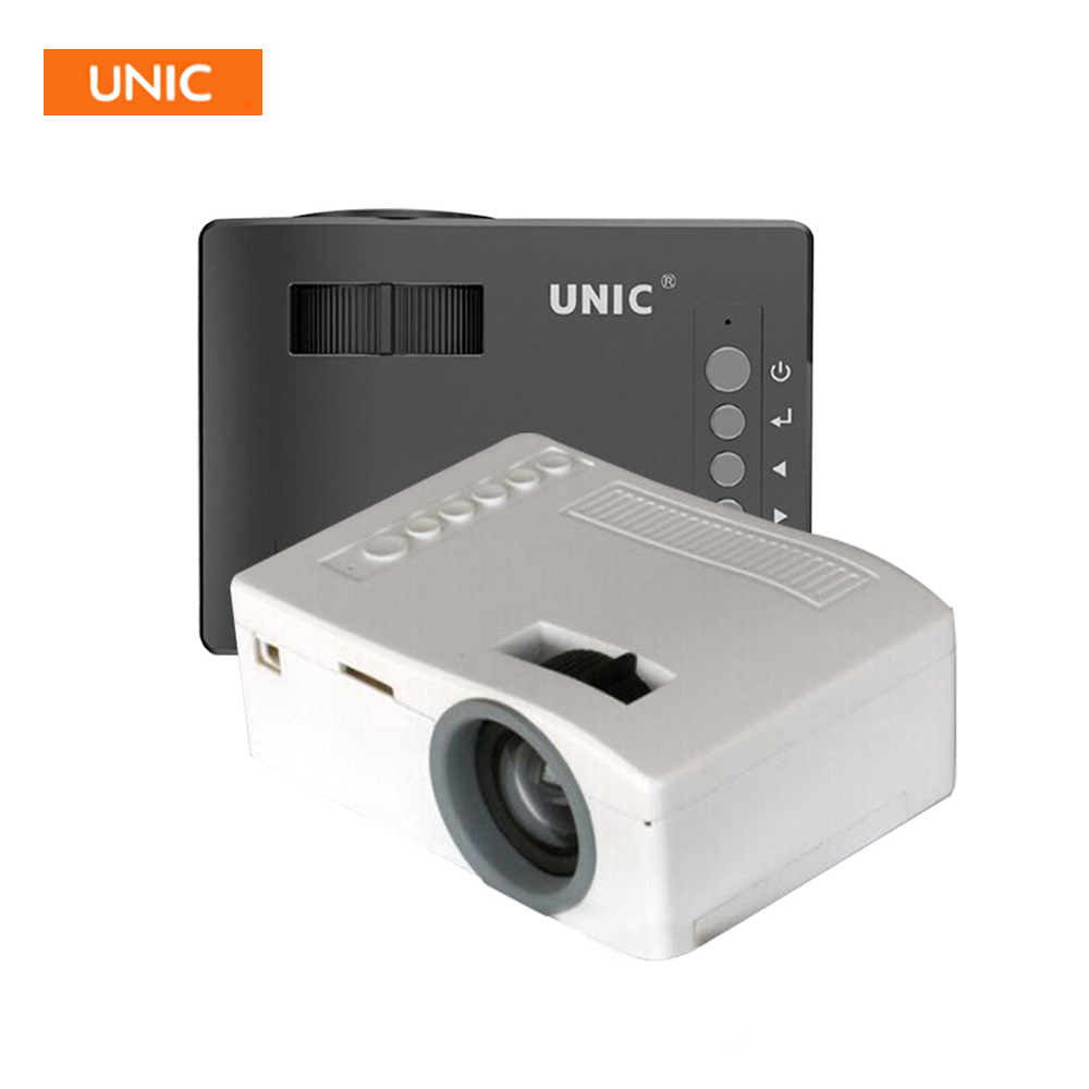 New original unic uc18 mini pocket projector 1080p for Portable projector reviews