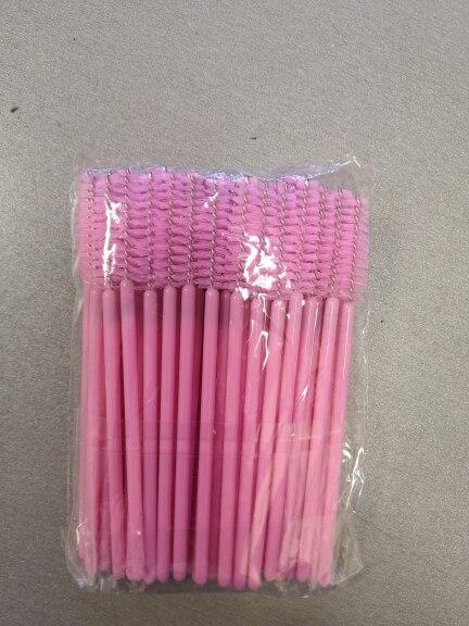 50/10/5PCS Disposable Eyelash Brush Mascara Wands Applicator Wand Brushes Eyelash Comb Brushes Spoolers Makeup Tool Kit maquiage