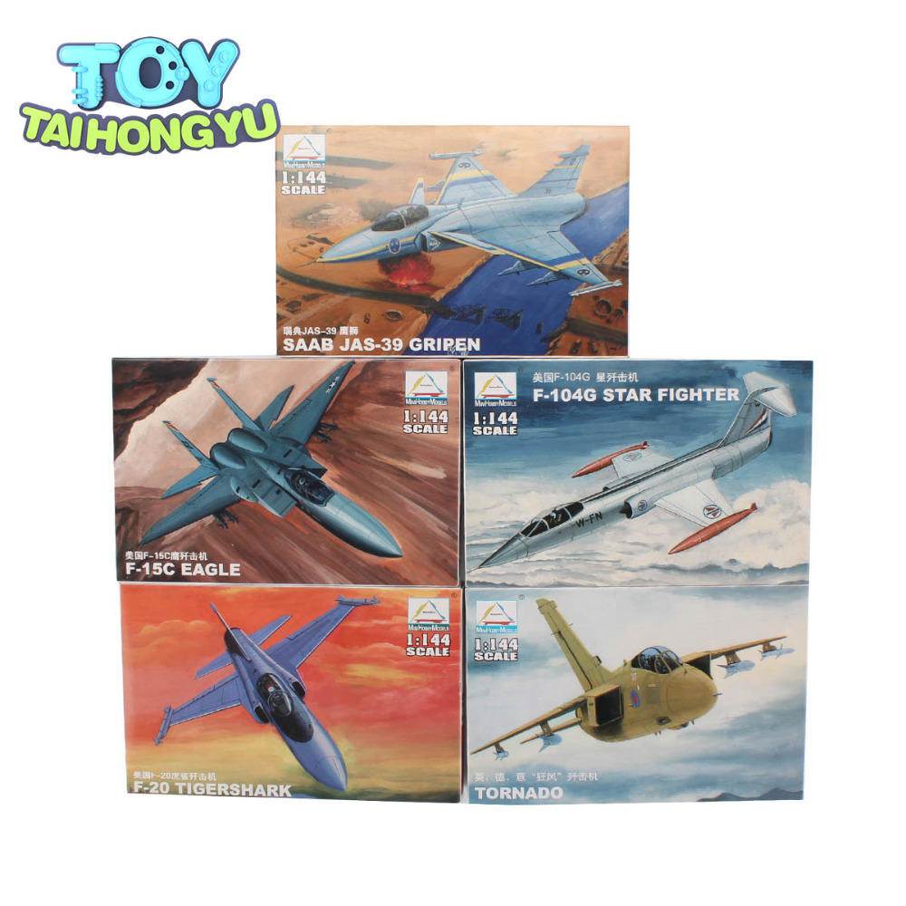 TAIHONGYU P-47D United States Russia 1/144 AirCraft Thunder Fighter Military P-51D MUSTANG Airplane Model 1 144 soviet mig 25 fighter military aircraft assemble model 80412