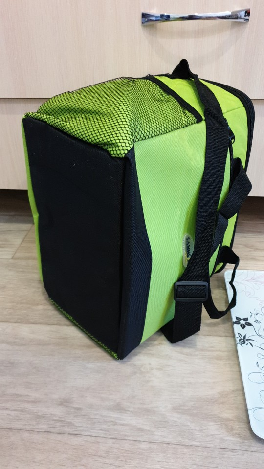16L Cooler Bag Waterproof Cloth Shoulder Cooler Bags For Food Drink Steak Insulation Thermal Bag Ice Pack Thermabag Refrigerator photo review
