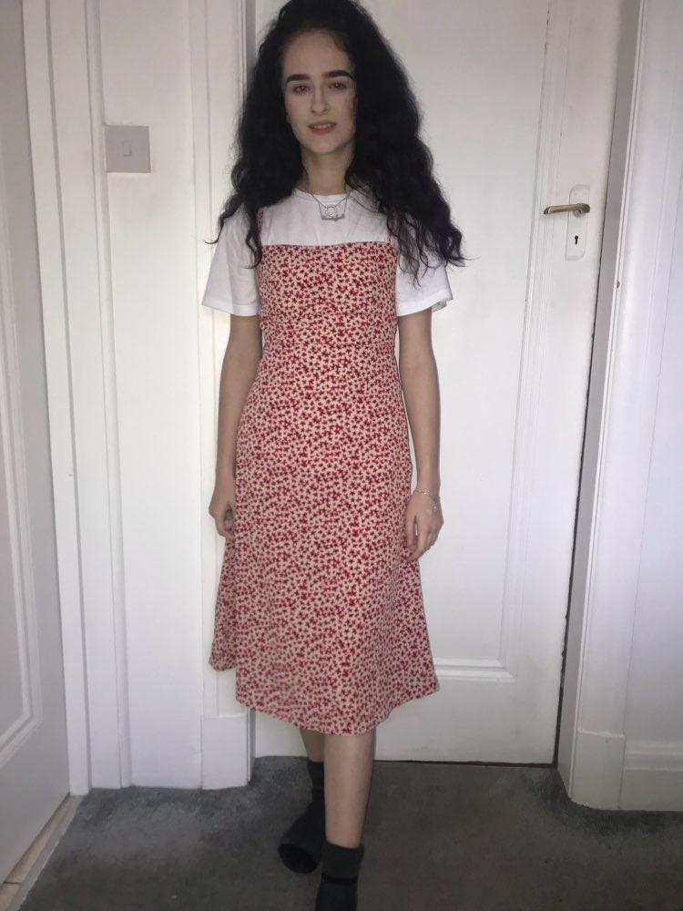 Sexy Cami Long Dress Women Sundress Beach Dress Vintage Sleeveless Party Dresses Korean Fashion Summer Dress photo review