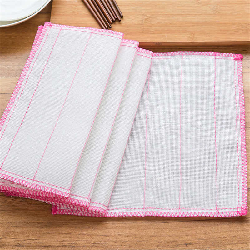 1960 cotton fiber dishcloth kitchen cleaning cloth, clean cloth, water, water washing towel, washing towel T