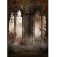 1 5m X 2 1m Vinyl Fabric Photographic Vinyl Background Retro Castle Studio Backdrop Lightweight For