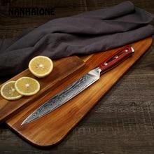 Nanhaione 8 дюймовый нож для Разделки мяса Дамаск ножи острый нож повара японский нож Кухня Ножи G10 ручка туризма и активного отдыха De Cocina CL121