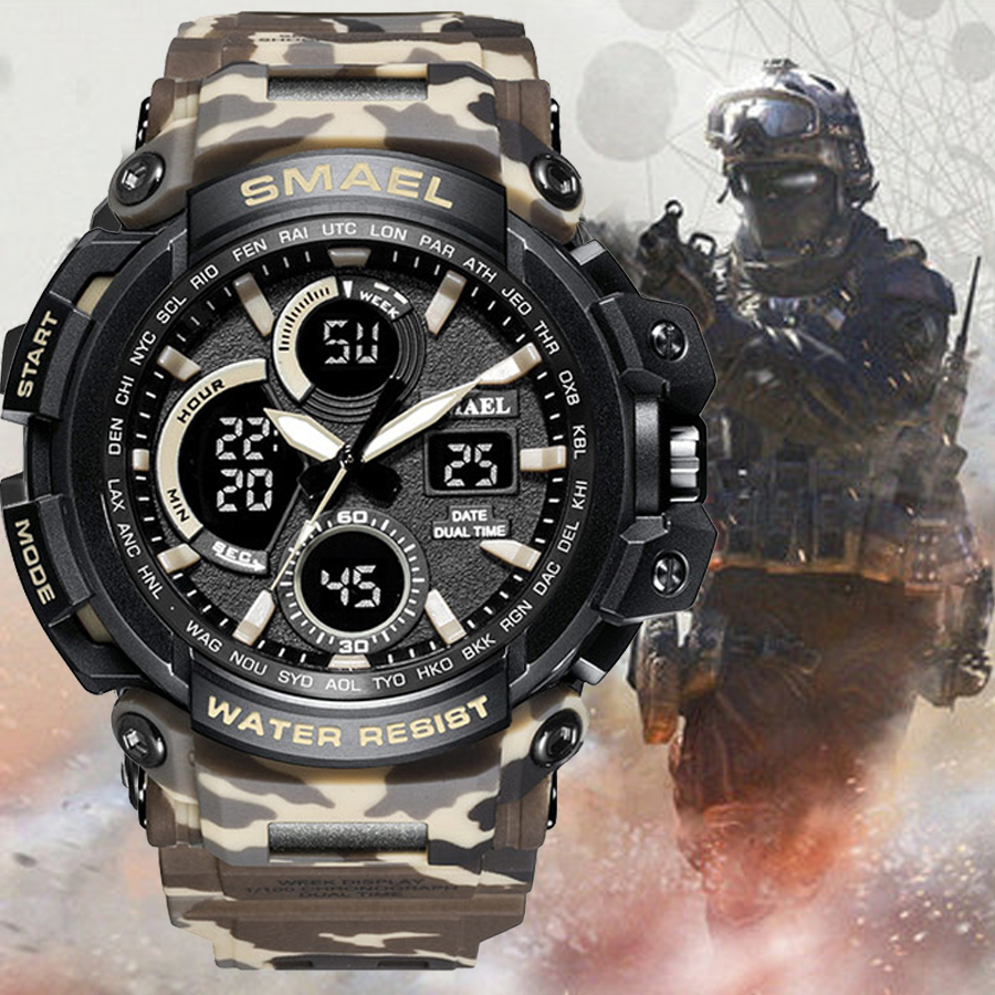 G Style Sports Watches Electronic 50M Water Resistant Sport Wrist Watch