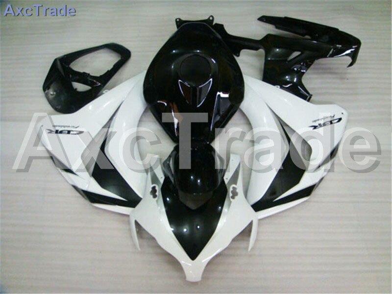 Carenature del motociclo Per CBR1000RR CBR1000 CBR 1000 RR 2008 2009 2010 2011 ABS di Plastica della Carenatura Iniezione Carrozzeria Kit Bianco