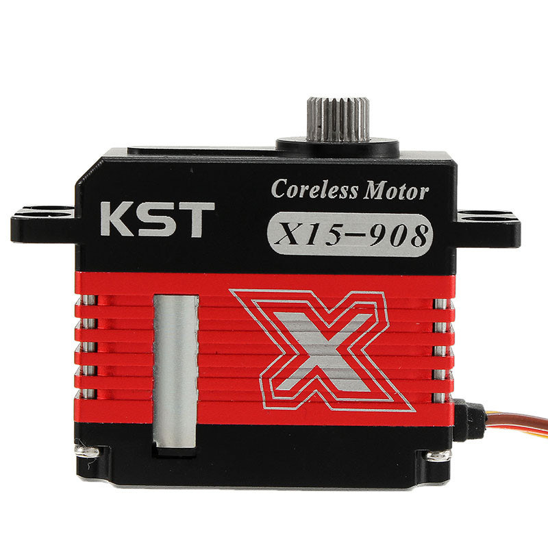 Original KST X15-908 Micro Digital Servo For Goblin 500 Class RC Helicopter Airplane 1/12 Car Toys Spare Parts Accessories Accs micro 9g servo rc sg90 aircraft airplane model parts for unique model biplane helicopter accessories