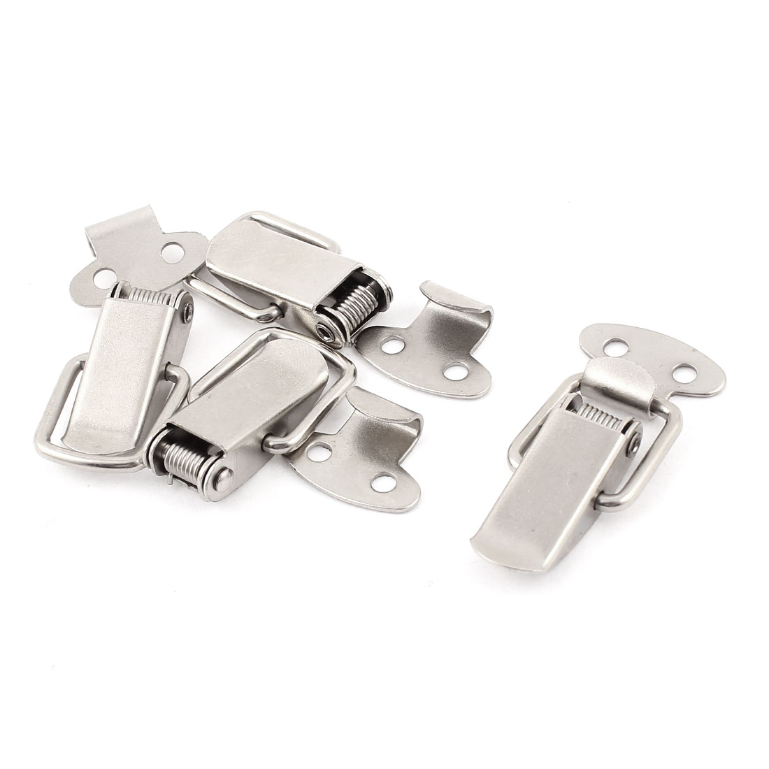 UXCELL Suitcase Chest Tool Boxes Metal Spring Loaded Toggle Latch Hasp Lock Locking 4Pcs ...
