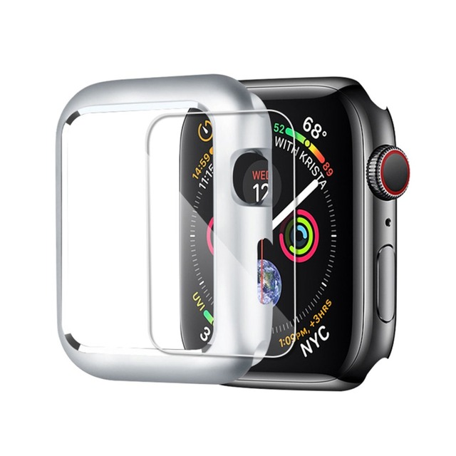 CRESTED Magnetic cover For Apple Watch case apple watch 4 3 44mm/42mm iwatch band 40mm/38mm screen protector protective glass 2