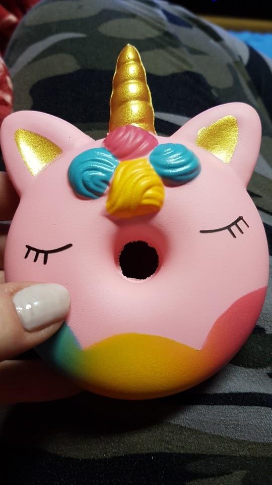 Big Donut Unicorn Antistress Toys photo review