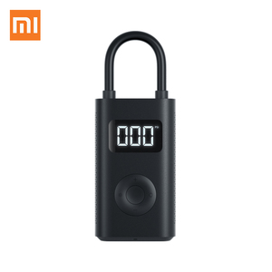 Image 2 - Xiaomi Electric Air Pump Mijia Rechargeable inflator 150PSI Smart Digital Tire Pressure Detection for Football Car Bike Pump