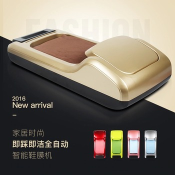 TG-Motors Automatic Shoe Cover Membrane Dispenser to Cover Shoe Sole Portable for Household Hotel Office Time & Labor