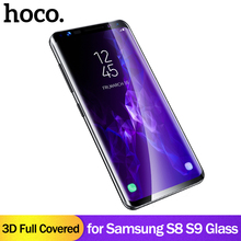 HOCO Tempered Protective Glass Protector Curved Edges Full Covered Touch Screen Protection for Samsung Galaxy S8 S9/ S8 S9 PLUS