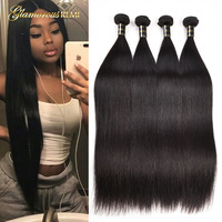 8A Virgin Hair Brazilian Straight Human Hair Unprocessed Brazilian Straight Virgin Hair Extension Weaves Best Straight Hair Soft