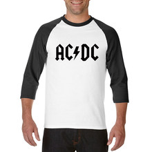 Cool new Camisetas AC/DC band rock T Shirt Mens acdc Graphic T-shirts Print Casual Tshirt O Neck Hip Hop Short Sleeve cotton Top(China)