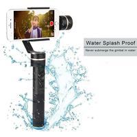 Feiyu SPG Upgraded Version 3 Axis Splash Proof Design Handheld Stabilizer Gimbal For IPhone 7 Plus