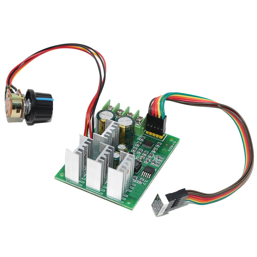 Dc 6v 60v 30a Variable Speed Motor Controller Driver Control With Using This Circuit It Is Possible To The Of Motors Digital Display Board Regulator In From Home Improvement On