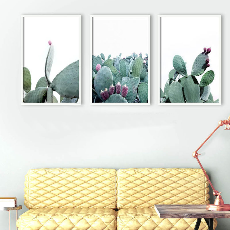 SD LINLEEHON Cactus Print Giant Cacti Wall Artwork Pastel Cacti Southwestern Print Bohemian Residence Decor Desert Cactus Photograph Portray & Calligraphy, Low cost Portray & Calligraphy, SD LINLEEHON Cactus...