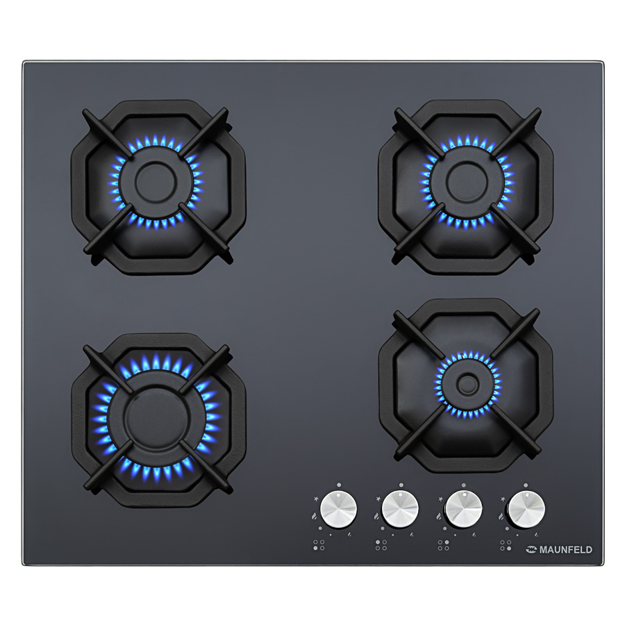 Cooking panel MAUNFELD EGHG.64.2CB/G Black cooking panel maunfeld eghg 32 2cb g black