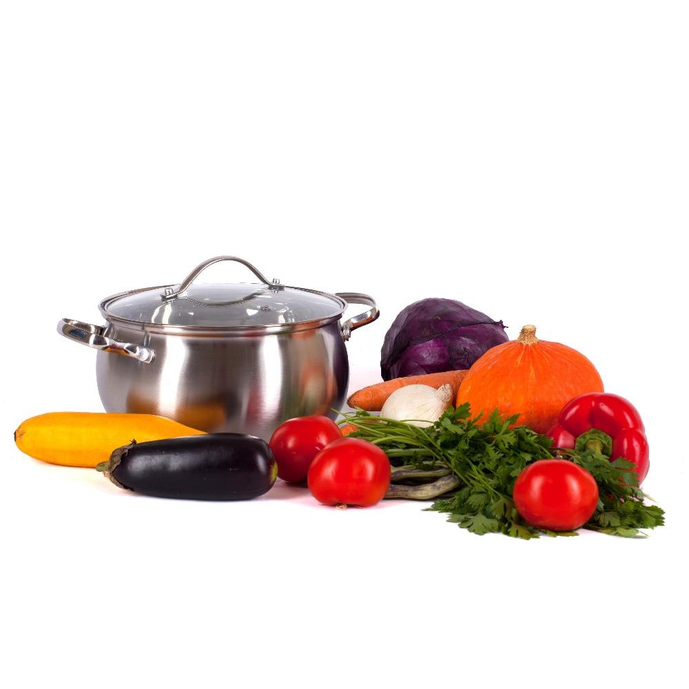PAN VETTA GENEVA 16H9,5SM. 2.0L. WITH GLASS. CAP, INDUCTION, Kitchen,knife,thermos,dish,mug,set,discount,high Quality 822-081
