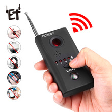 ET CC308+ Anti-Spy Camera Hidden RF Signal Bug Detector Mini Wireless Camera Radio Wave Signal GSM Device Finder Laser Detector 1 pcs wireless signal rf detector tracer hidden camera finder ghost sensor 100 2400 mhz gsm alarm device radio frequency check