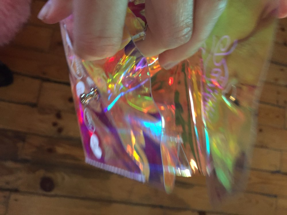 Bentoy Jelly Transparent Coin Purse Letter Hasp PVC Card Bag Milkjoy Three Layer Case Soft New Girls Money Bag Square Coin Purse photo review