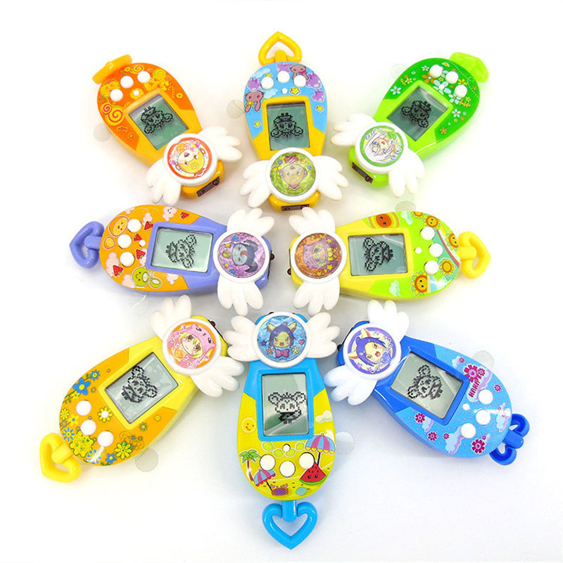 Electronic Pet Develop Machine Game Cyber Elves Doll Ver Juguetes For Kids Gift Toys Children
