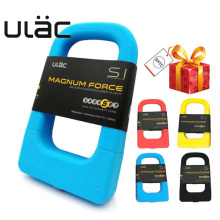 ULAC Silicone U-shaped Lock Universal Mountain Bike Aluminum Alloy Waterproof Anti-collision Portable Car LK-MU3